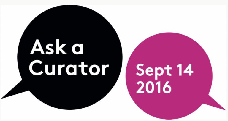 Ask A Curator logo