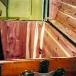 Cedar Lined Trunk