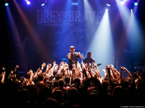Obey The Brave, Impericon Festival, Le Bataclan, Paris, France, April 30th 2015, © ABSE Photography – All rights reserved. Please don't use this photo on websites, blogs or any other media without my explicit permission.