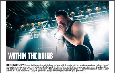 Within The Ruins, Fuze Magazin 63 APR/MAY 17, http://fuze-magazine.de