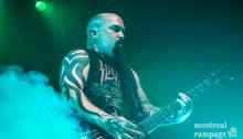 Slayer - Sept 13 2016 - Metropolis, Montreal (Photo by Jean-Frederic Vachon)