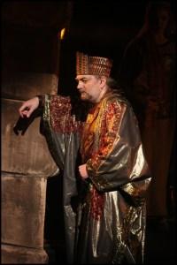 Daniel Hůlka jako Šalamoun Sibyla královna ze Sáby
