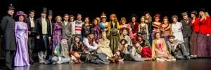Kostýmy z muzikálu Přízrak Londýna