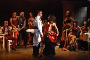 Muzikál Zorro Divadlo Hybernia Roman Vojtek Monika Absolonová