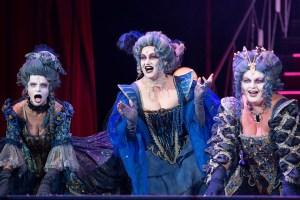 Nymfa v muzikálu Dracula v Hudebním divadle Karlín