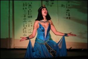 muzikál Kleopatra Divadlo Broadway Kamila Nývltová