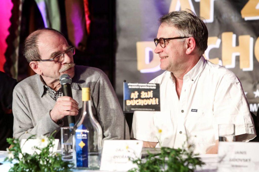 Jaroslav Uhlíř a Antonín Procházka