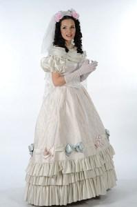 Hedvika ve svatebních šatech Cosetty
