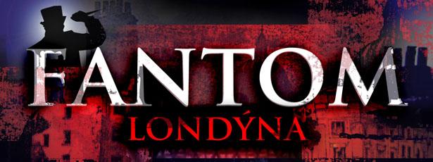 Fantom Londýna - logo