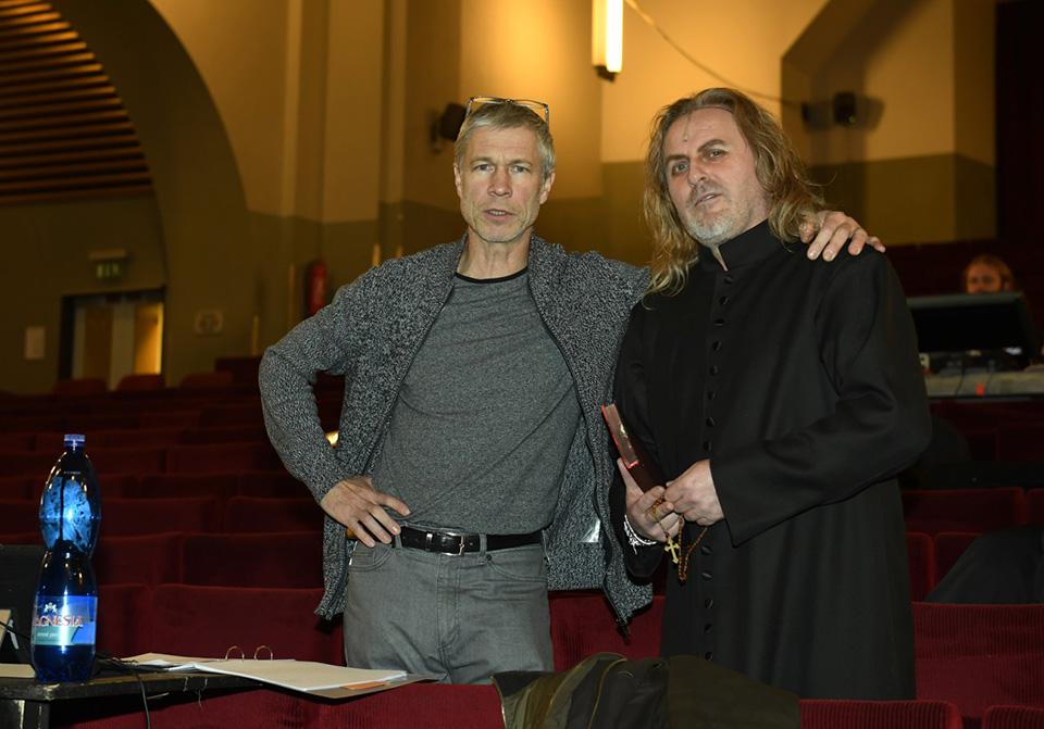 Režisér Šimon Caban a Josef Vojtek (mg)
