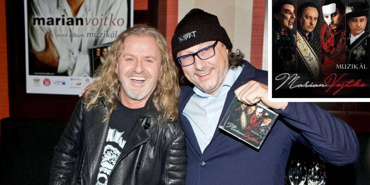 Marian Vojtko vydal a pokřtil CD muzikálových hitů