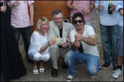 Iveta pila jen džus, zato Sagvan nemohl otevřít šampaňské...