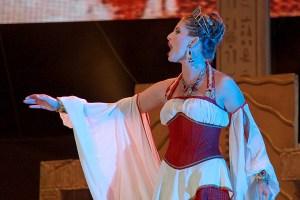 muzikál Kleopatra Divadlo Broadway Pezinok Alžbeta Bartošová