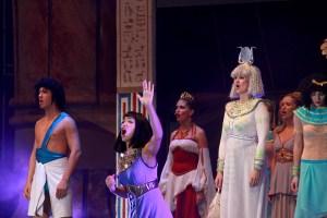 muzikál Kleopatra Divadlo Broadway Pezinok Kamila Nývltová