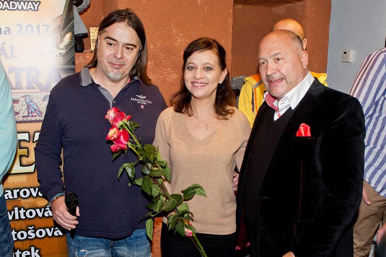 Producent Oldřich Lichtenberg, nová herecká posila Alena Mihulová a Michal David