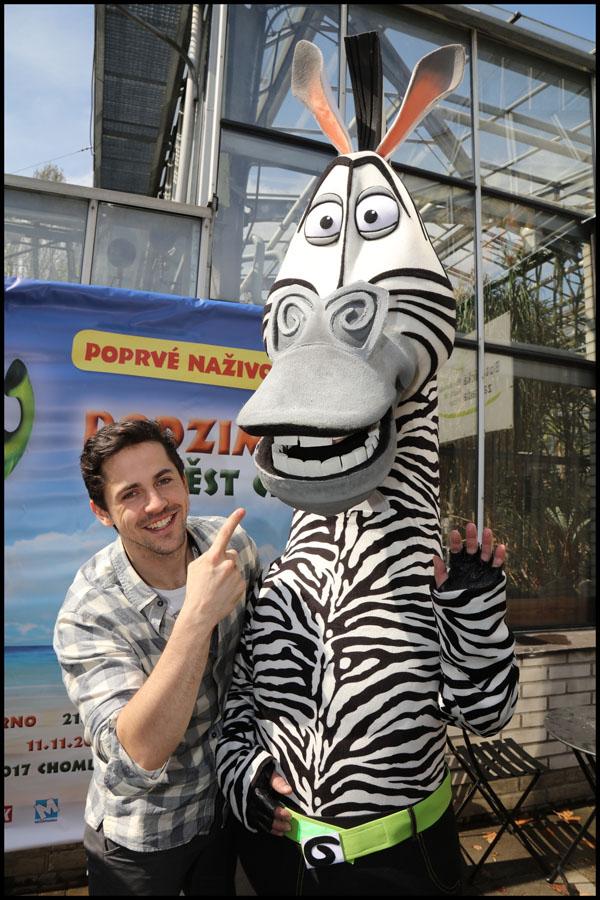 Zebru Martyho si zahraje Petr Ryšavý