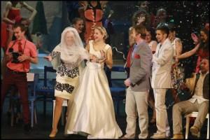 Závěrečná rozjařená svatba