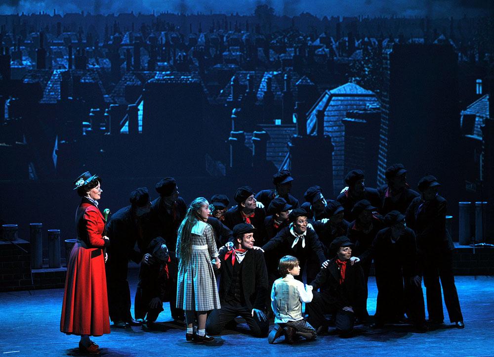 Mary Poppins v Městském divadle Brno