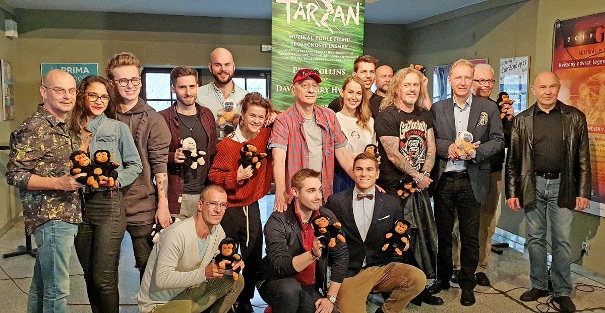 Obsazení muzikálu TARZAN v Divadle Hybernia (+ návrhy kostýmů a scény)