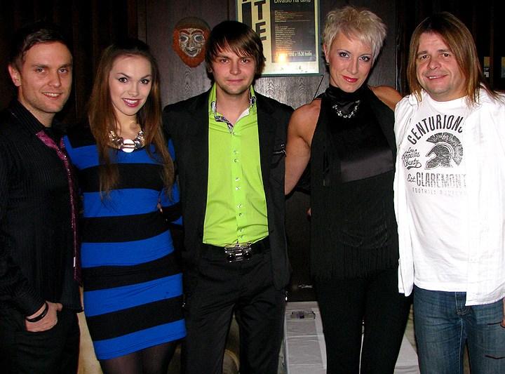 Tomáš Löbl, Kamila Nývltová, Josef Vágner, Renata Drösssler a Bohouš Josef