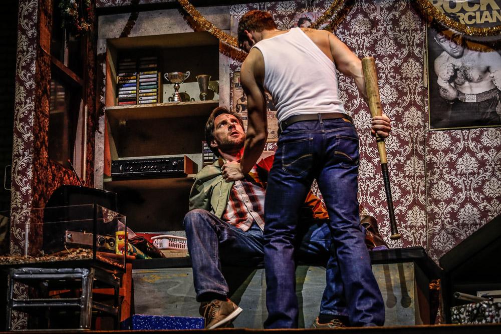 Roman Vojtek si vyřizuje účty s Rockym (Peter Pecha)