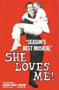 Originální plakát k premiéře na Broadwayi