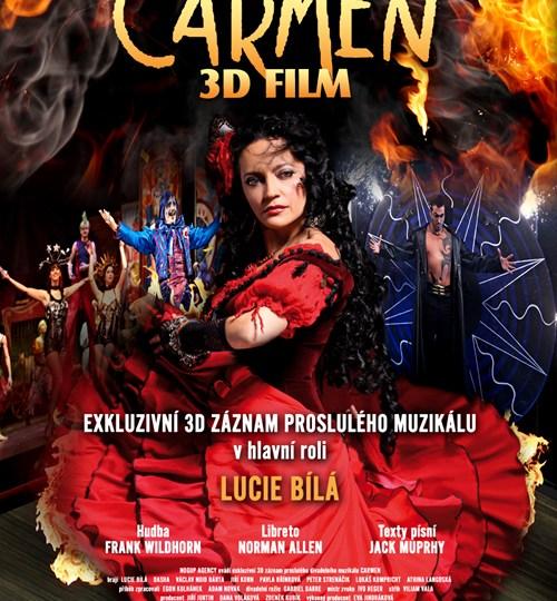Carmen 3D - oficiální plakát