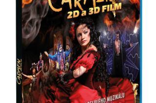 Vizuál Blu-ray disku Carmen