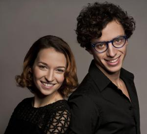 Berenika Kohoutová a Jan Cina (foto: Studio DVA divadlo)