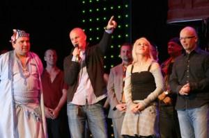 Promluvil Ondřej Soukup, který na Touze hudebně spolupracoval a upravil písně pro CD.