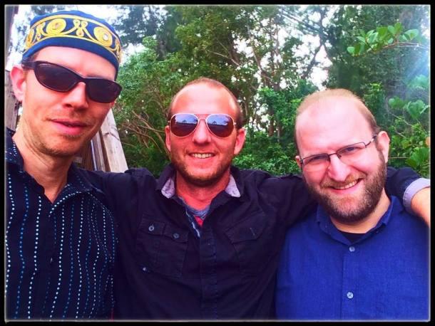 trio with kipperman eischen