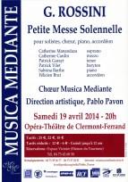 _2014-04-19 Concert Clermont-Ferrand Affiche