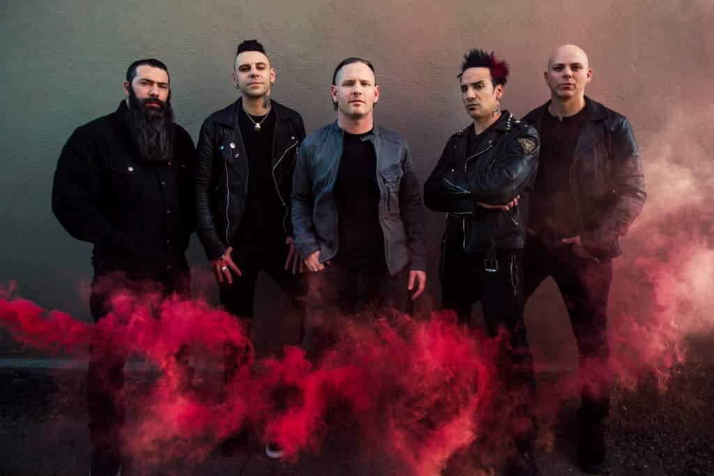 Stone Sour 2017 press shot credit Travis Shinn (1)