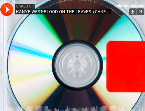 Kanye West-Blood The Leaves