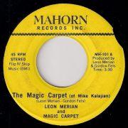 Leon Merian And Magic Carpet - The Magic Carpet (Of Mike Kalajian), Mahorn 45