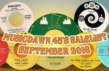 Musicdawn September 2016 Sale-list