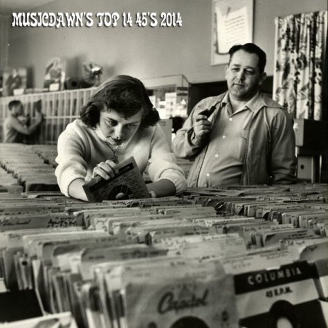 Musicdawn's Top 14 45's 2014 Mix