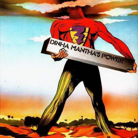 Daniel Janin - Dinha Mantha's Power (PSI-X 20706 Front Cover Art_