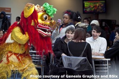 Guan Yin Chinese Lion Dancers London