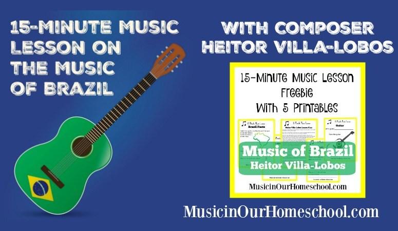 15-Minute Music Lesson: Brazilian Composer Heitor Villa-Lobos