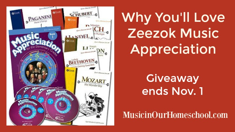 Why You'll Love Zeezok Music Appreciation for Elementary Students (with a giveaway!)