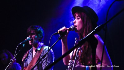 Andrew Carroll and Jessi Williams of The Lonely Wild