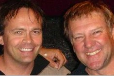Richard Chycki and Alex Lifeson