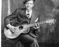 Robert Johnson guitar photo