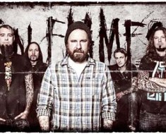 In Flames band 2011