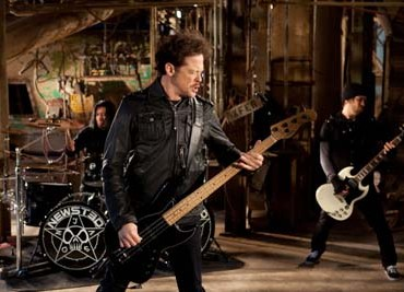 Jason Newsted video shoot