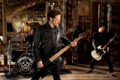 Jason Newsted video shoot