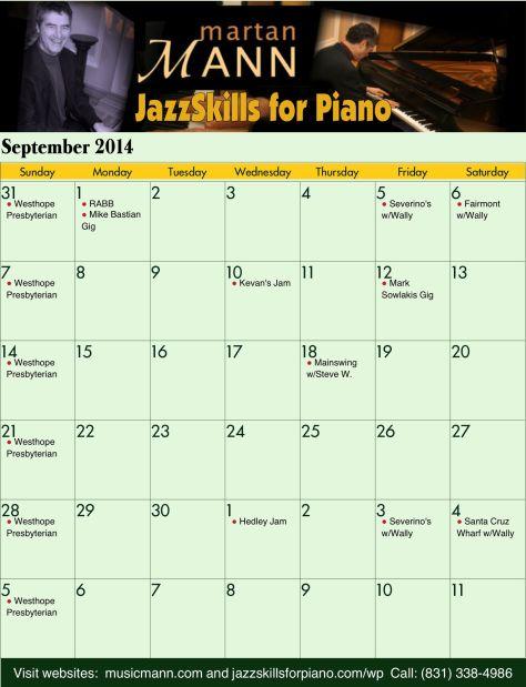 Sep2014 Calendar