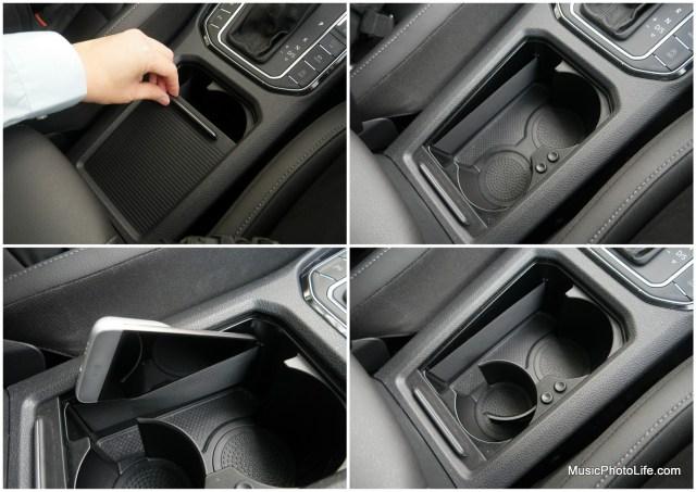 Volkswagen Sportsvan centre console