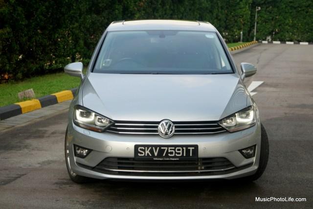 Volkswagen Sportsvan front view